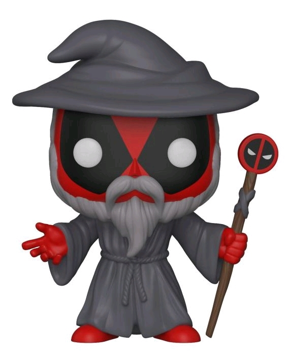 Deadpool: Wizard Deadpool - Pop! Vinyl Figure