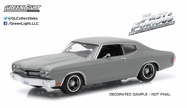 1/43: Chevrolet Chevelle SS - Fast & Furious - Diecast Model