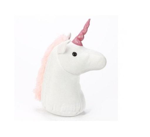 Unicorn Plush Standing Doorstop
