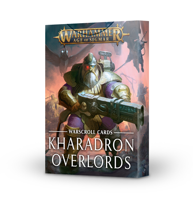 Warhammer Age of Sigmar: Karadron Overlords Warscroll Cards
