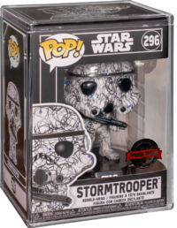 Star Wars - Stormtrooper (Futura) Pop! Vinyl Figure + Protector image
