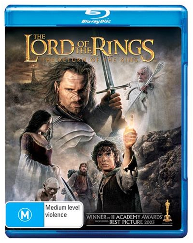 The Lord Of The Rings: The Return Of The King on Blu-ray