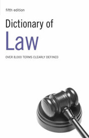 Dictionary of Law image
