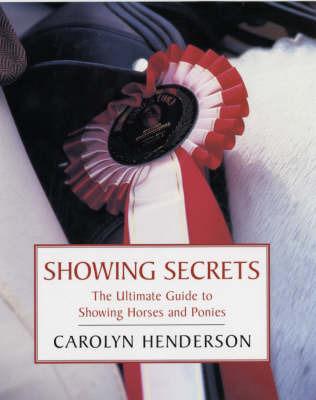 Showing Secrets by Carolyn Henderson image