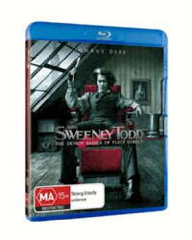 Sweeney Todd - The Demon Barber Of Fleet Street on Blu-ray