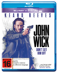 John Wick on Blu-ray, UV