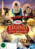 Thomas & Friends: Sodor's Legend of the Lost Treasure on DVD