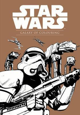 Star Wars: Galaxy of Colouring by Lucasfilm Ltd