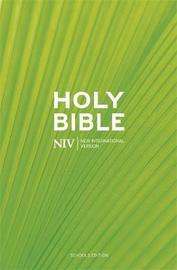 NIV Schools Hardback Bible by New International Version