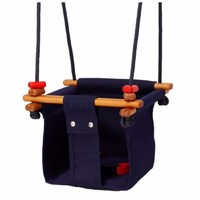 SOLVEJ Baby Swing - Midnight Blue