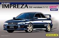 Fujimi 1/24 Subaru Impreza Sti Ver IV/ VI - Model Kit