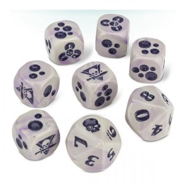 Warhammer 40,000: Kill Team: Gellerpox Infected Dice