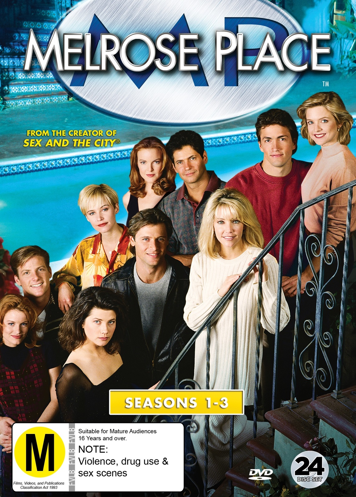 Melrose Place Seasons 1-3 on DVD image