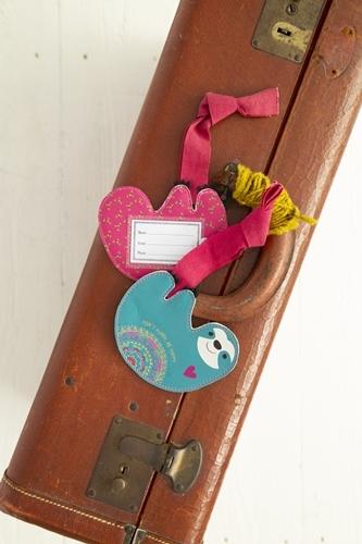 Natural Life: Luggage Tag - Sloth Be Happy