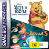 Rayman and Winnie the Pooh Double Pack for Game Boy Advance