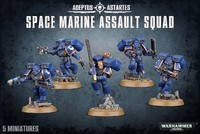 Warhammer 40,000 Space Marine Assault Squad