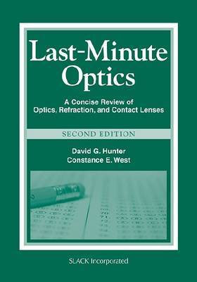 Last Minute Optics by David G Hunter