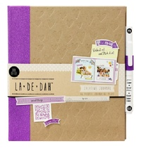 La De Dah: Ooh La La - Journal and Glue Pen