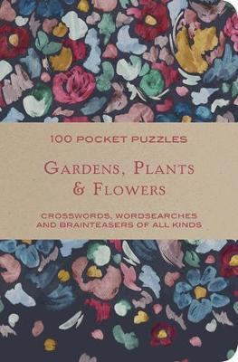 Gardens & Flowers: 100 Pocket Puzzles by The National Trust image