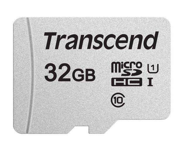 Transcend: 32GB 300S Class 10 UHS-I MicroSDHC Card