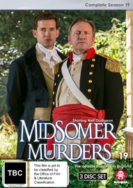 Midsomer Murders: Complete Season 19 on DVD