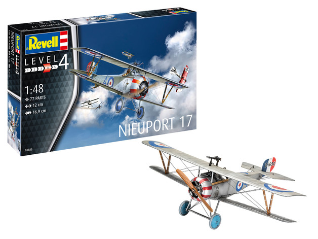 Revell: Nieuport 17 - 1:48 Scale Model Kit