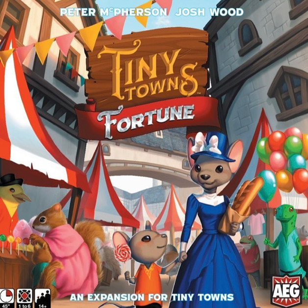 Tiny Towns: Fortune - Game Expansion