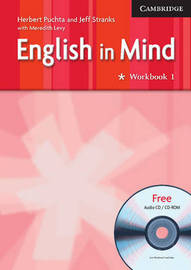 English in Mind 1 Workbook with Audio CD/CD ROM by Herbert Puchta image