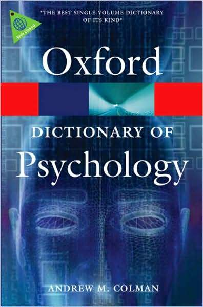 A Dictionary of Psychology by Andrew Colman
