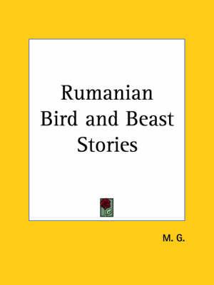 Rumanian Bird by M.G.