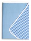 Brolly Sheets Single Size Sheet Bed Pad - Blue