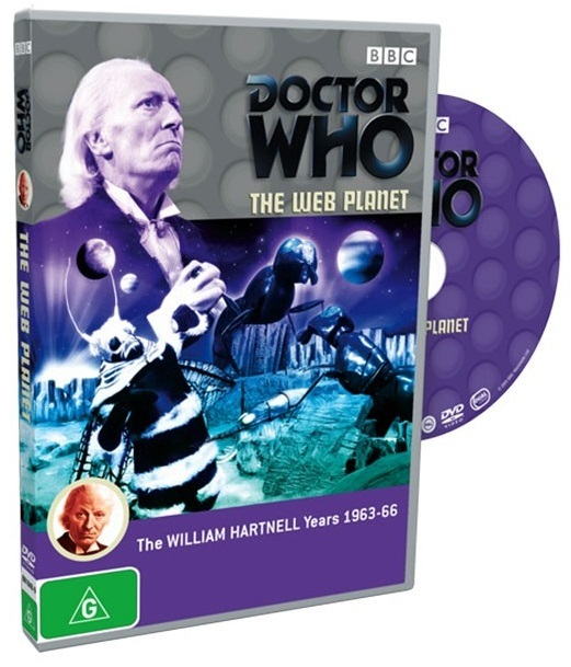 Doctor Who: The Web Planet on DVD