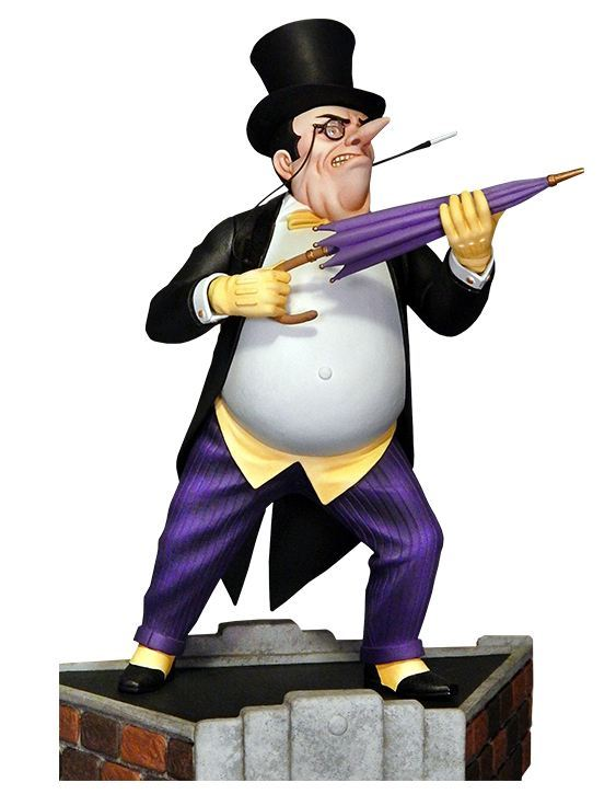 Batman Classic Penguin Maquette Diorama