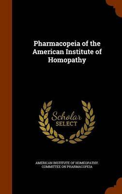 Pharmacopeia of the American Institute of Homopathy image