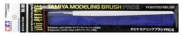 Tamiya: Pro II Pointed Brush - Extra Fine