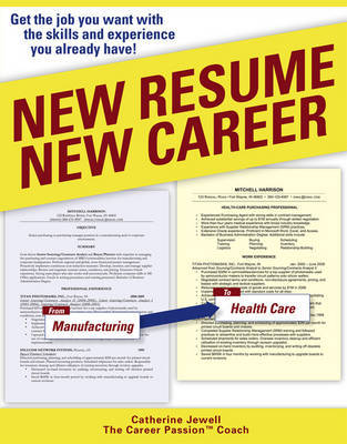 New Resume New Career by Catherine Jewell image