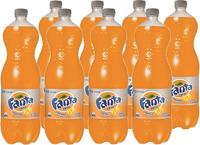 Fanta Zero Soft Drink Orange 1.5l X 8
