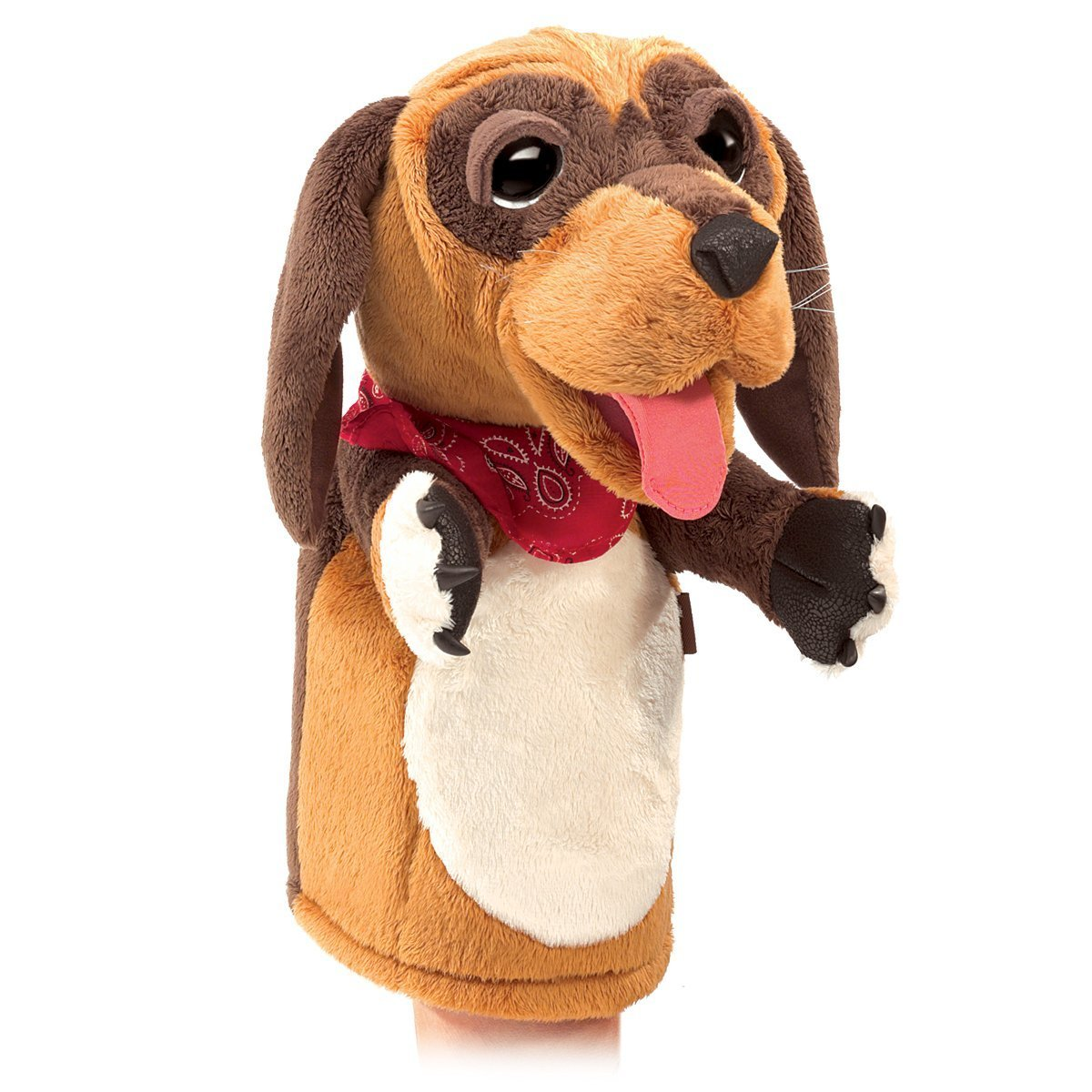 Folkmanis Hand Puppet - Stage Dog image