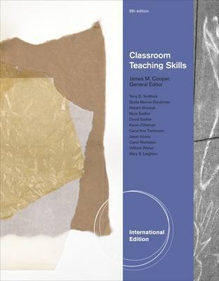 Classroom Teaching Skills by James M Cooper image