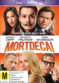 Mortdecai on DVD