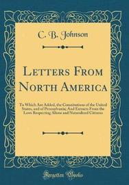 Letters from North America by C.B. Johnson image