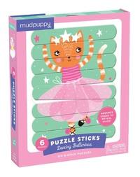 Mudpuppy: Dancing Ballerinas - Puzzle Sticks