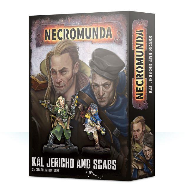 Necromunda - Kal Jericho & Scabs