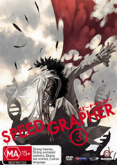 Speed Grapher - Vol 3 on DVD
