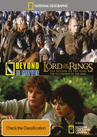 National Geographic: Beyond the Movie - Lord of the Rings on DVD