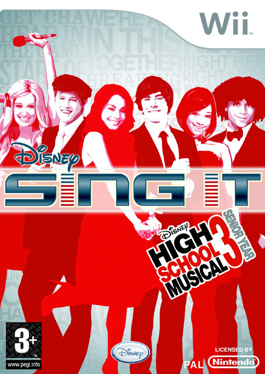 Disney: Sing It High School Musical 3 (Game Only) for Wii