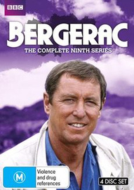 Bergerac - The Complete Ninth Series on DVD