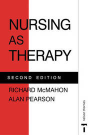 NURSING AS THERAPY by Richard McMahon image