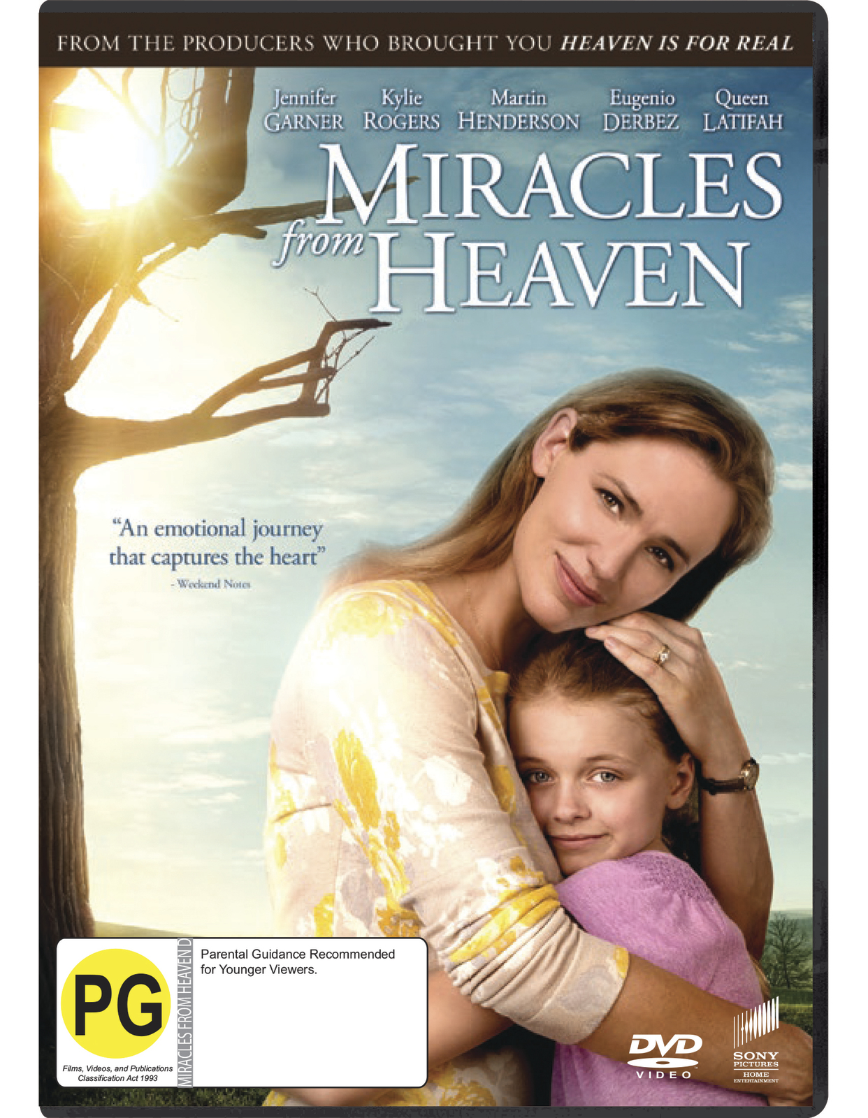 Miracles from Heaven on DVD image