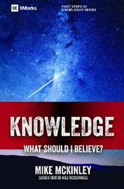 Knowledge - What Should I Believe? by Mike McKinley